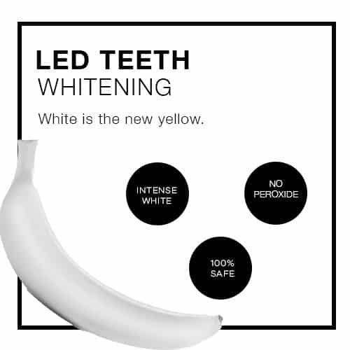 LED TEETH WHITENING PROMOTION