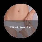 bikini line hair