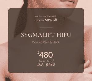 SYGMALIFT HIFU promotion