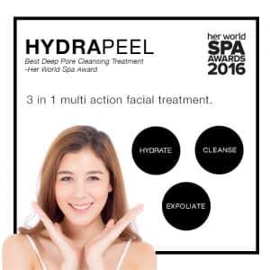 hydrapeel facial singapore bio aesthetic medispa